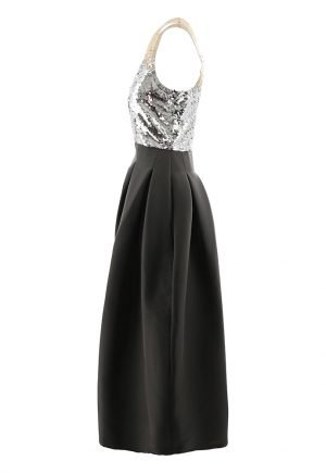 Sachin and Babi sequin ball gown for rent in UAE