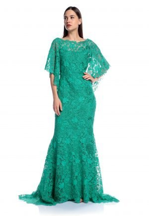 Rami Al Ali Guipure mermaid lace dress